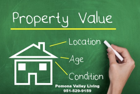 Property value on chalkboard